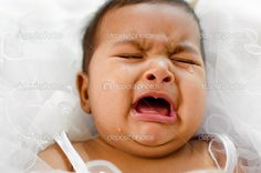 Crying Indian baby girl lying on bed Crying It Out Method, Cry It Out, Indian Baby Girl, Colic, Diaper Rash, Peaceful Parenting, Cry Baby, Baby Bumps, Photo Library
