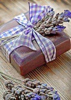 Lavender soap by Marzia Giacobbe