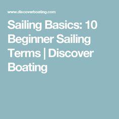 Sailing Basics: 10 Beginner Sailing Terms   Discover Boating