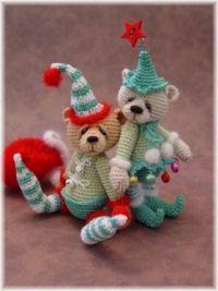 Thread Bears - thread crochet