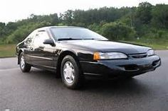 1995 Ford Thunderbird my first car which my dad bought for me when I was 17 years old