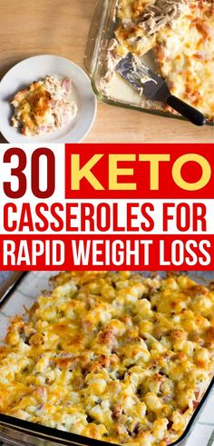 These keto casseroles are the BEST for weight loss! So many low carb casserole recipes to make for dinner, which healthy & easy meal will you try first? meals for beginners 30 Best Keto Dinner Casseroles For Weight Loss Healthy Casserole Recipes, Keto Casserole, Low Carb Dinner Recipes, Keto Dinner, Health Dinner, Supper Recipes, Dinner Healthy, Ketogenic Diet Meal Plan, Diet Meal Plans