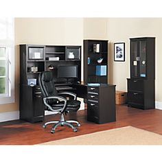 60 on sale Realspace Magellan Collection Hutch 33 58H x 58
