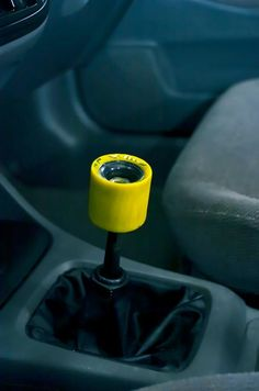 Longboard Lifestyle!! Wheel gearstick, I want this for my car!