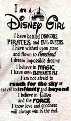 I am a Disney girl - sayings ♡ - # disney girl . I am a Disney girl - sayings ♡ Disney Fun, Disney Girls, Disney Magic, Funny Disney, Disney Art Diy, Disney Wall Art, Humour Disney, Disney Memes, Wallpaper World