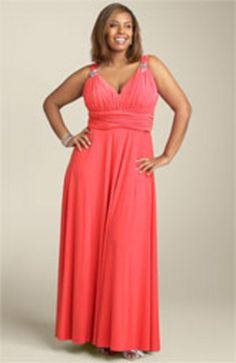 Plus size dresses bridal party