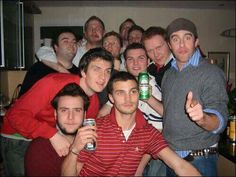 Jamie & his friends in his younger years