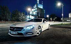 Mercedes SL500 ultra hd wallpapers // #mercedessl500 // www.CarsLike.it