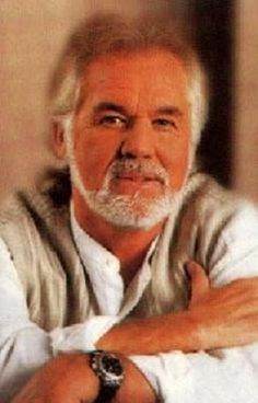 """Kenny Rogers, """"The Gambler""""-before he messed up his face."""