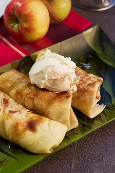 Apple Pie Crepes with Rum Butterscotch Sauce #CaptainsTable by LittleRedKitchen, via Flickr