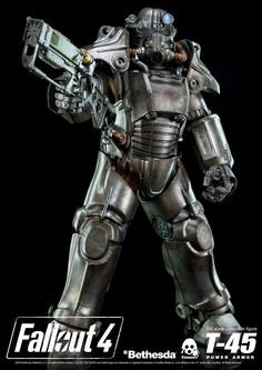 Pre-order of 1/6th scale Fallout 4 T-45 Power Armor Collectible Figure ends at www.threezerostore.com on March 17th 9:00AM Hong Kong time. You can find lots of images and full details at our Facebook page here: https://www.facebook.com/media/set/?set=a.1280360955323063.1073741945.697107020315129&t #Fallout #Fallout4 #Bethesda #BethesdaSoftworks #toys #acitonfigures #collectibles #collectible