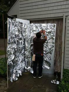 1000 images about items walls on pinterest haunted for Diy haunted house walls
