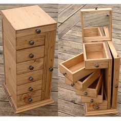 Woodworking That Sell Wood Crafts .Woodworking That Sell Wood Crafts Into The Woods, Diy Rangement, Diy Holz, Craft Storage, Craft Organization, Storage Ideas, Storage Design, Wood Boxes, Wood Furniture