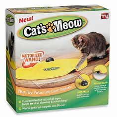 Cat's Meow™ Interactive Pet Toy
