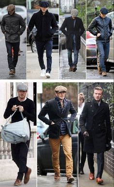 Celebrity Styles for Men - David Beckham- David Beckham Was shopping in ms today while I was there. Great fun walking in with him. What a treat. - 2019 Fashion trends from style icon David Beckham Mode Outfits, Casual Outfits, David Beckham Style, David Beckham Fashion, David Beckham Boots, Stylish Men, Men Casual, Fun Walk, Style Masculin