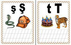 JUCARII PENTRU COPII: ALFABETUL IN IMAGINI First Grade, Kids And Parenting, Activities, Comics, Grammar, Bebe, 1st Grades, Cartoons, Comic