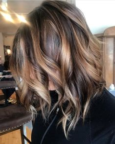 Balayage hair. Highlights and lowlights using Kevin Murphy and Devines color