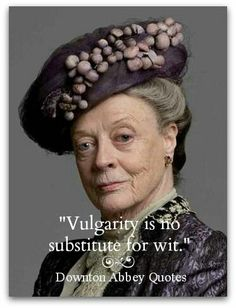 """Dame Maggie Smith as the Dowager Countess of Grantham in """"Downton Abbey."""" Also, the titular character in """"The Prime of Miss Jean Brodie,"""" and Professor McGonagall in the """"Harry Potter"""" series Maggie Smith, Downton Abbey, Quilting Quotes, Quilting Ideas, Quilting Projects, Sewing Projects, Sewing Humor, Jolie Phrase, Sewing Quotes"""