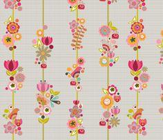 Lili fabric by valentinaharper on Spoonflower - custom fabric