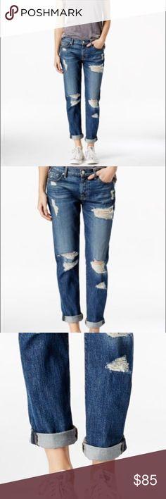7 For All Mankind Josefina Skinny Boyfriend Jeans 7 For All Mankind Josefina Skinny Boyfriend Jeans, 25. Great condition! 7 For All Mankind Jeans Boyfriend