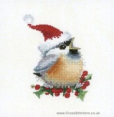One of a series of cross stitch designs from the paintings of Valerie Pfeiffer…