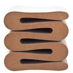 Frank Gehry Easy Edges Wiggle Stool, 2001 Vitra Edition