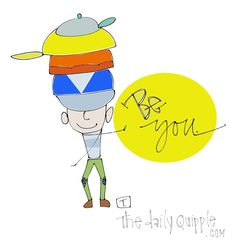 """With all the """"hats"""" you wear in your life, strive to feel like YOU with each one."""
