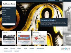 Baltikums Bank apraksts un atsauksmes Desktop Screenshot, Flagstone
