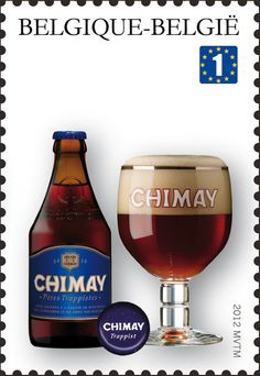 Stamp: Trappist Beers: Chimay (Belgium) (Trappist beers) Mi:BE 4242,Bel:BE 4196