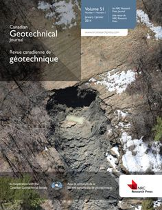 Canadian Geotechnical Journal Geotechnical Engineering, Environmental Engineering, Environmental Issues, Civilization, Mount Rushmore, Places To Visit, Earth, Journal, School