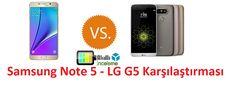 İki Devin Kapışması Bu. Bu yazı ile LG G5 mi Samsung Note 5 mi? sorusuna cevap arayacağız birlikte. İşte Samsung Note 5 LG G5 Karşılaştırması -->