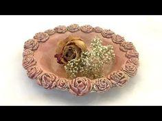 Rosenteller/Plate with roses - YouTube