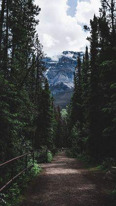 Mountain Trekking iPhone Wallpaper - iPhone Wallpapers