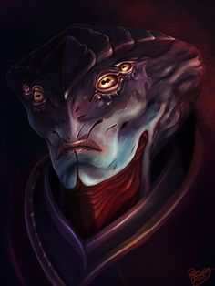 Mass Effect: Javik by ruthieee.deviantart.com on @deviantART