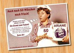 Einladungskarten - Einladungskarten☺Fotokarten☺Geburtstag☺Motto 30 50 - ein Designerstück von Ausgefallene-Fotokarten bei DaWanda