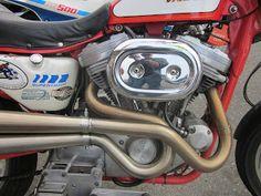 OldMotoDude: Harley Davidson Sportster Street Tracker at the 2013 Isle of Vashon TT -- Washington State