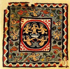 Carpet, linen & wool, 6thc Aphrodite | Flickr - Photo Sharing!