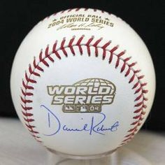 Dave Roberts Signed Ball - Official World Series - Autographed Baseballs by Sports Memorabilia. $98.53. Dave Roberts hand signed this Official World Series Baseball at a private signing with Sure Shot Promotions. Roberts was a member of the 2004 World Series Champion Red Sox. A Sure Shot Promotions Certificate of Authenticity is included.