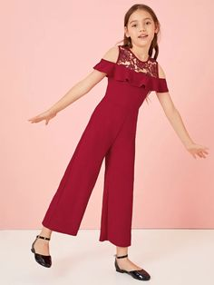 Teen Fashion Outfits, Kids Outfits, Cute Outfits, African Dresses For Kids, Little Girl Dresses, Girls Sports Clothes, Kids Dress Wear, Baby Girl Dress Patterns, Jumpsuits For Girls