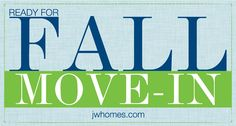 Ready for Fall Move-In at John Wieland Homes and Neighborhoods. Find your dream home in Atlanta, Charleston, Raleigh and Charlotte and take advantage of limited time offers!