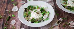 Qooking.ch | Burrata aux légumes printaniers