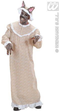 Grandma Wolf Costume
