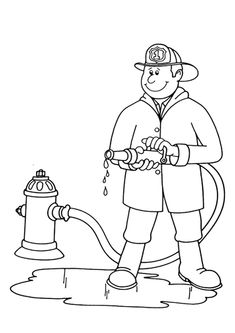 Postman 3 coloring page Post