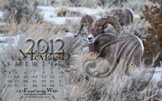 March desktop calendar.