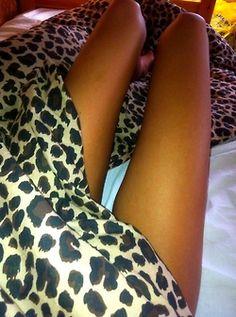 Premier Comfort Cheetah Polyester Textured Satin 6-piece Queen-size Sheet Set