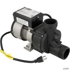 Pump, Bath, BWG Vico WOW, 5.5A, 115V, w/Air Switch & Cord