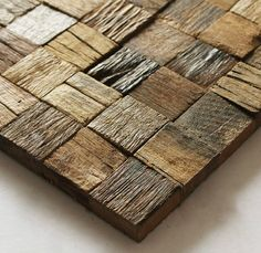 Natural wood mosaic tile rustic wood wall tiles NWMT002 kitchen backsplash wood panel 3D wood pattern tiles mosaic Wholesale wood mosaic tile, wood art mosaic pattern,rustic wood wall tile,classic wood mosaic tile kitchen backsplash,3D mosaic tile,wood wall tile [NWMT002] - $32.07 : MyBuildingShop.com