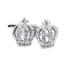 #Crown #shape rhinestone #dress suit shirt cuff link cufflinks wedding gift new,  View more on the LINK: http://www.zeppy.io/product/gb/2/391607832054/