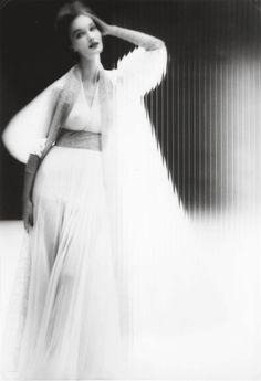 Evelyn Tripp for Harper's Bazaar, c. 1947. By Lillian Bassman