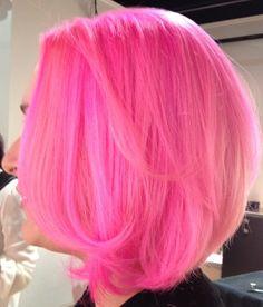 Pink hair obsessed!!!